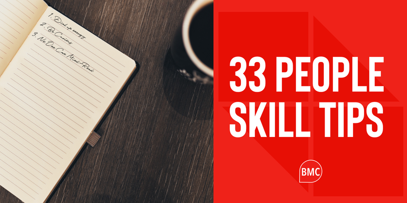 33 People Skill Tips